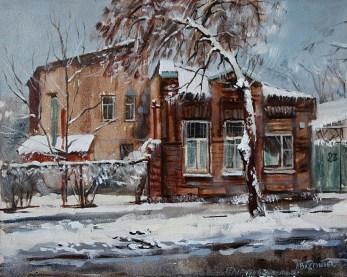 «Старый Ростов» холст, масло 40х50 Цена: 8000 руб.