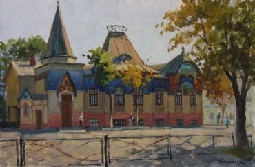 «Музей градостроительства» х.м. 40х60 2016г. г.Таганрог Цена: 9000 руб.