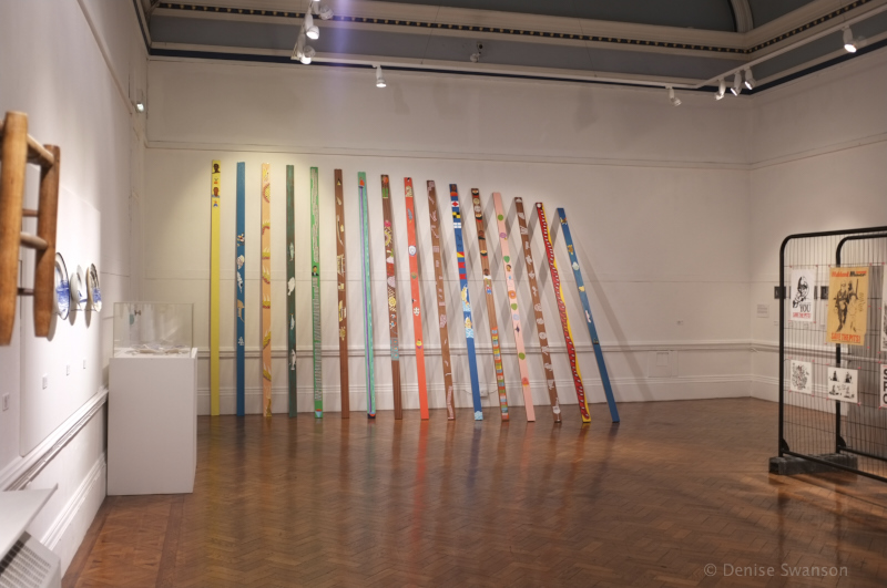 Installation Lubaina Himid Bury Art Gallery