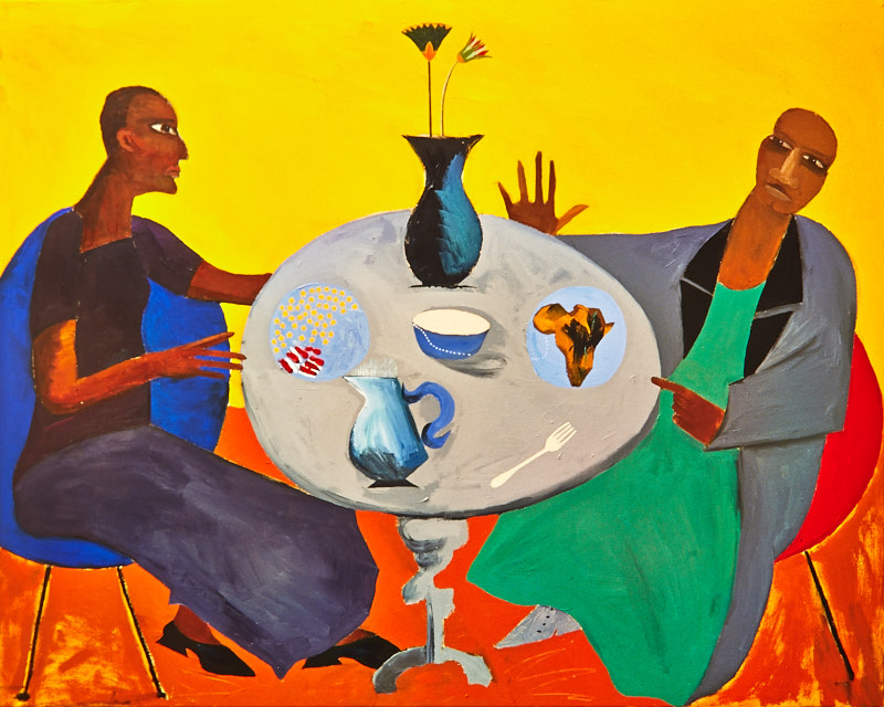 Five - Lubaina Himid