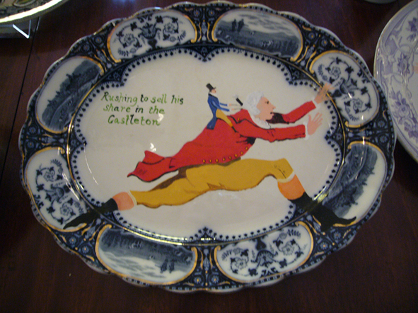 Swallow Hard: The Lancaster Dinner Service - detail