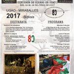 """Burdin Hesia Ugaon"" VI. Historia Astea / VI Semana Histórica del ""Cinturón de Hierro en Ugao"""