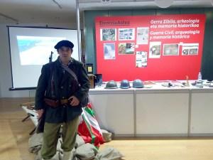 Guerra Civil, Arqueología y Memoria Histórica, Zientzia Astea 2017, Vitoria-Gasteiz (Araba) - 01