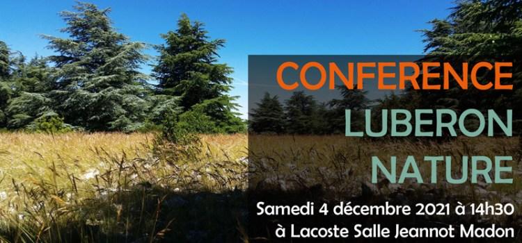 Conférence : La forêt méditerranéenne, face aux enjeux écologiques et sociétaux.