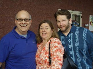 Steve, Whitney Hoffman, and Chris Brogan