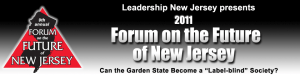 LNJ's Forum on the Future of New Jersey 2011 logo