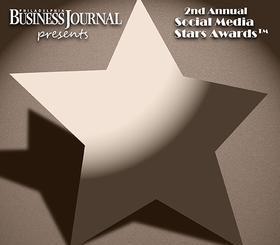 Philadelphia Business Journal 2012 Social Media Stars Logo
