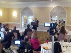 Event video at PRSA Delaware speech by US Sen. Chris Coons