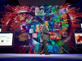 Adobe president and chief executive officer Shantanu Narayen kicks off Adobe MAX,
