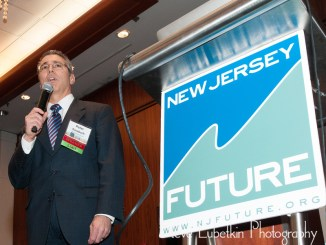 Peter Kasabach, executive director of New Jersey Future, welcoming attendees at the 2015 Redevelopment Conference.