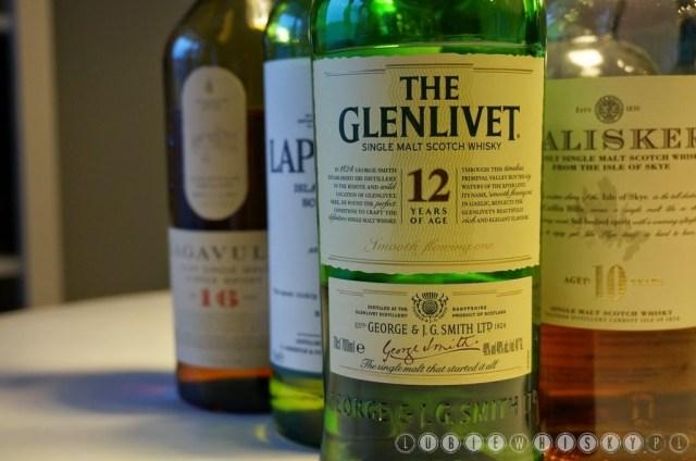Whisky na początek.