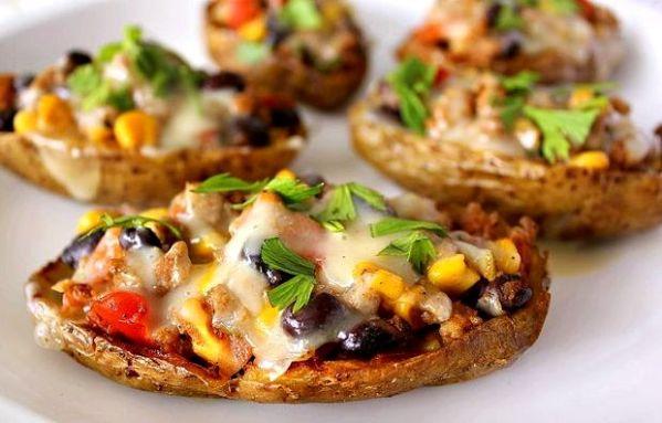 Картошка фаршированная в духовке рецепт с фото пошагово