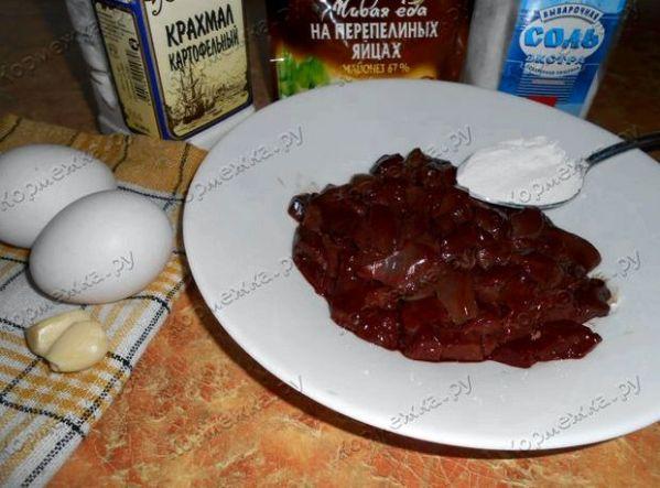 Печёночные котлеты из свиной печени рецепт пошагово с фото