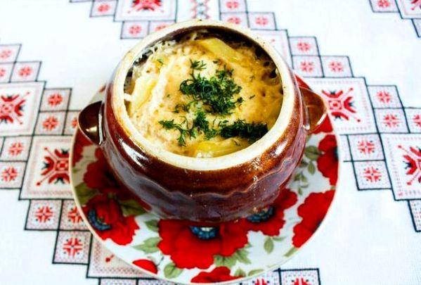 Жаркое в горшочках с мясом и картошкой в духовке рецепт с ...