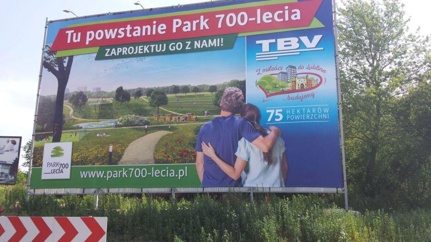 Znalezione obrazy dla zapytania park 700 lublin