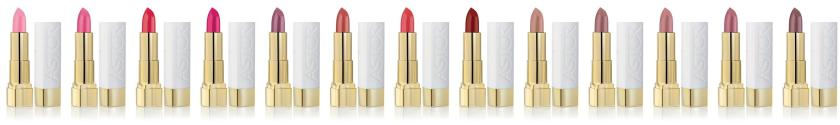 Astor Soft Sensation Color and Care Lipsticks.