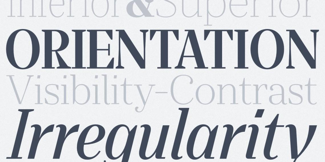 Download Laura Guardalabene's Favorite Five Typefaces