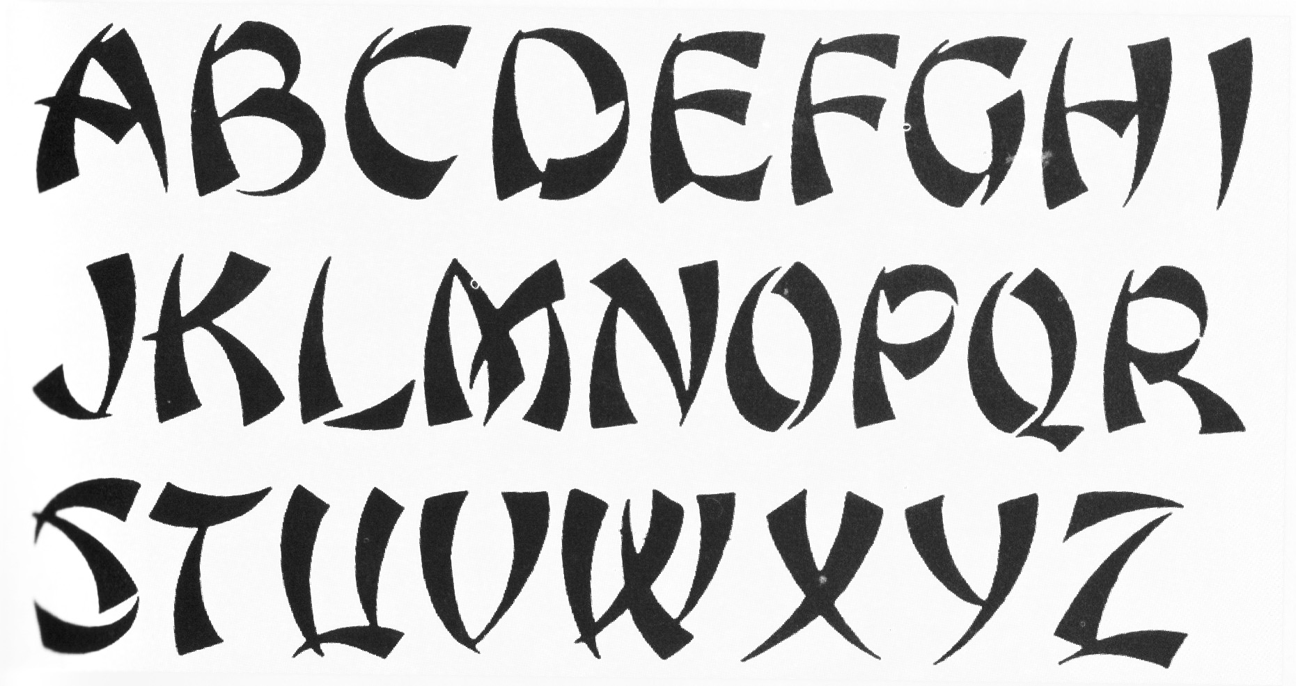 List Of Synonyms And Antonyms Of The Word Ninja Font