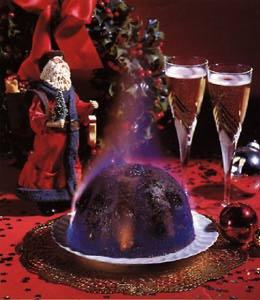 Le christmas pudding