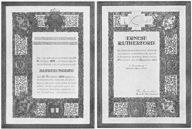rutherford_nobel_1908_urkunde
