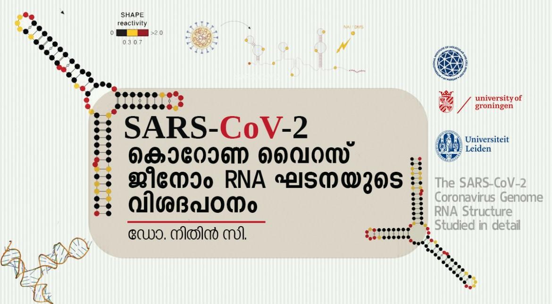 SARS-CoV-2 കൊറോണ വൈറസ് ജീനോം ആർഎൻഎ ഘടനയുടെ വിശദപഠനം