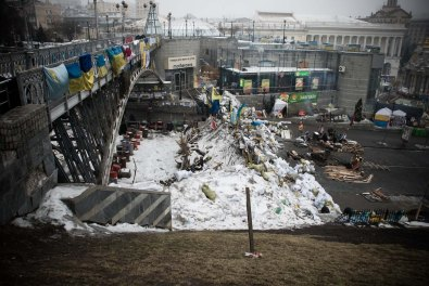 Ukraine, Maidan Square, February 2014 ©LucaFiore
