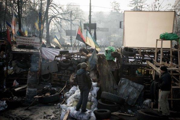 Ukraine, Maidan Square, February 2014