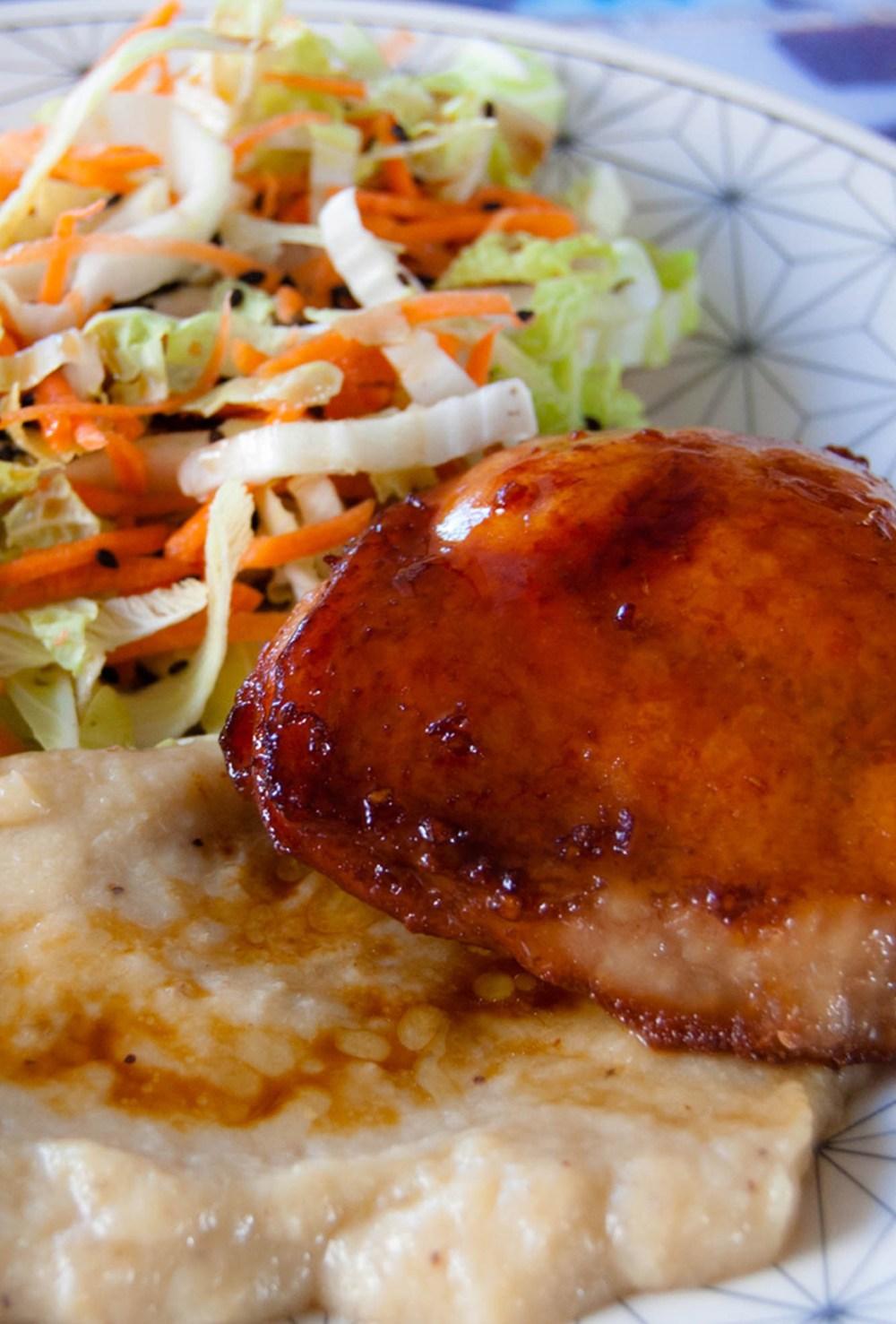 Sobrecoxa de frango do Cozinha Prática