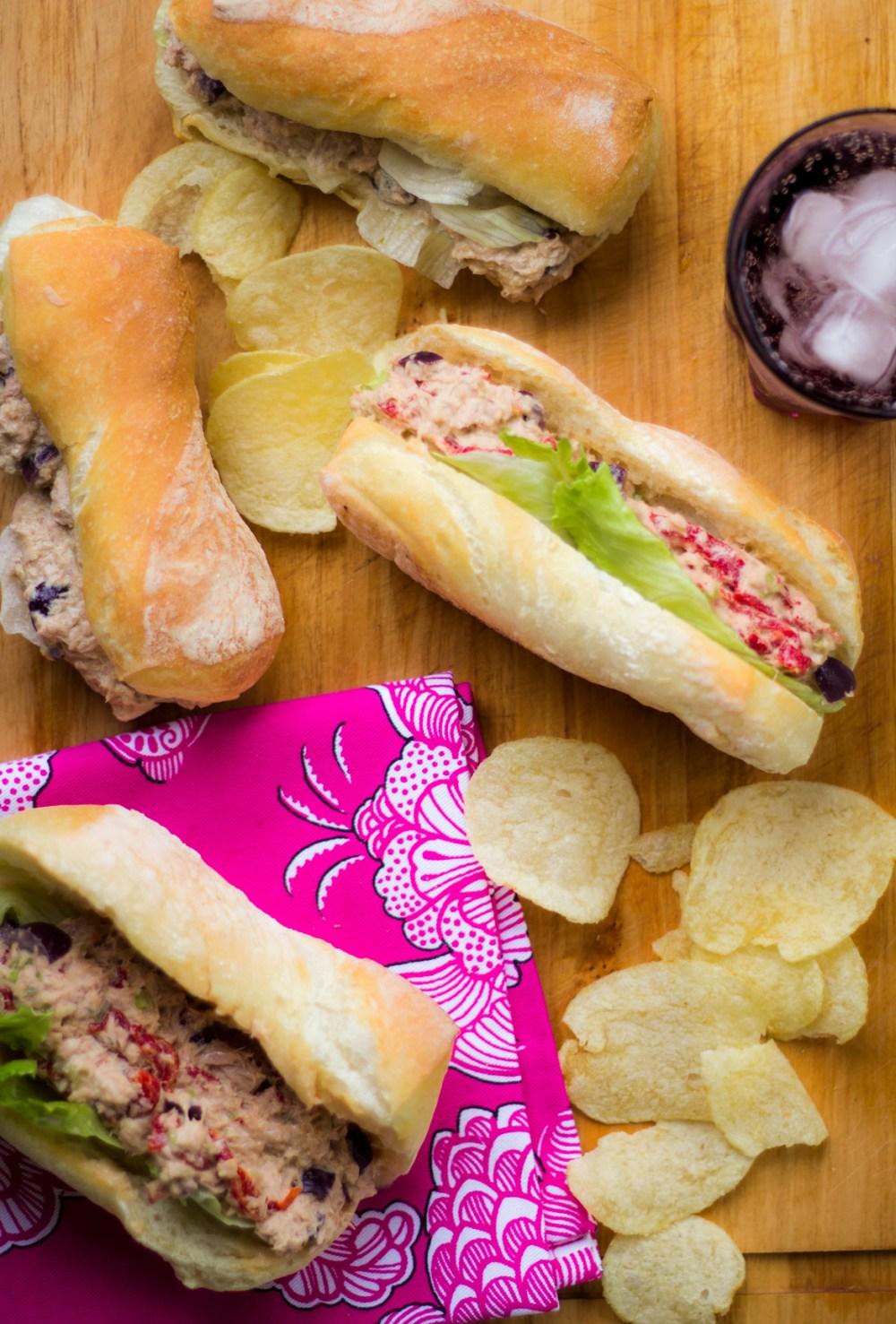 Sanduíche de atum – super rápido e saboroso