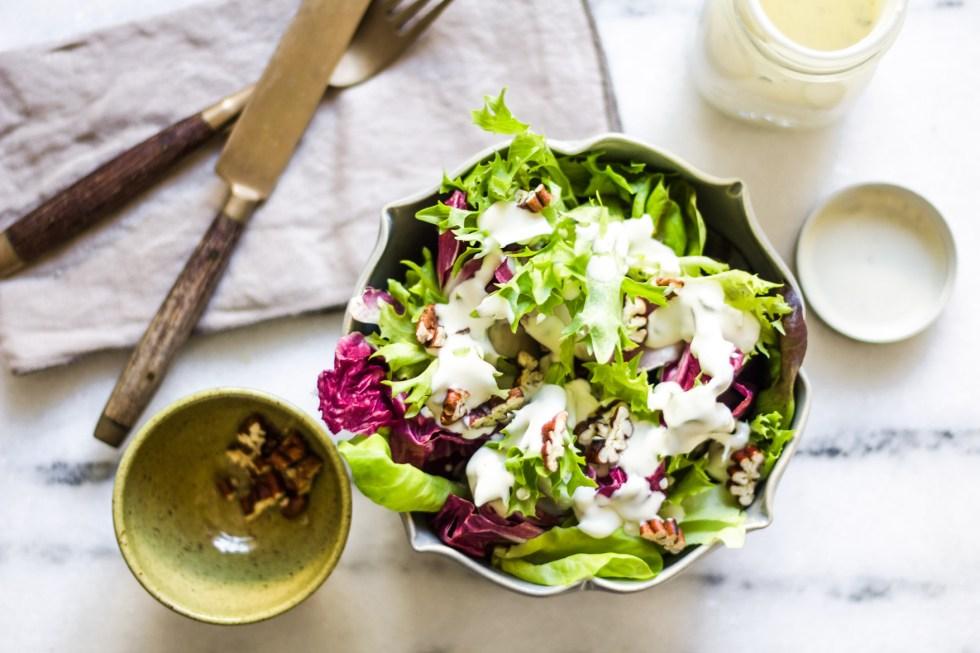 Molho de gorgonzola para salada 1
