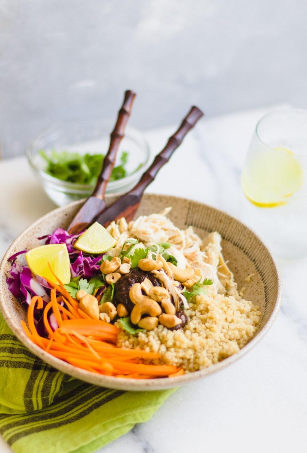 Salada Crocante de Quinoa