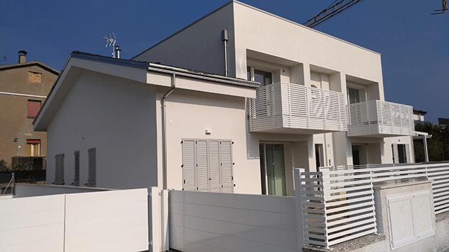 Edificio quadri familiare con unità in classe A secondo i parametri della regione Emilia Romagna