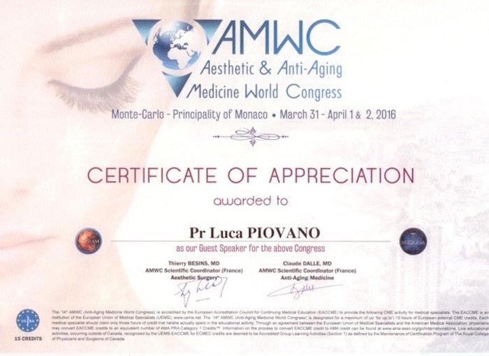 AMWC 2016