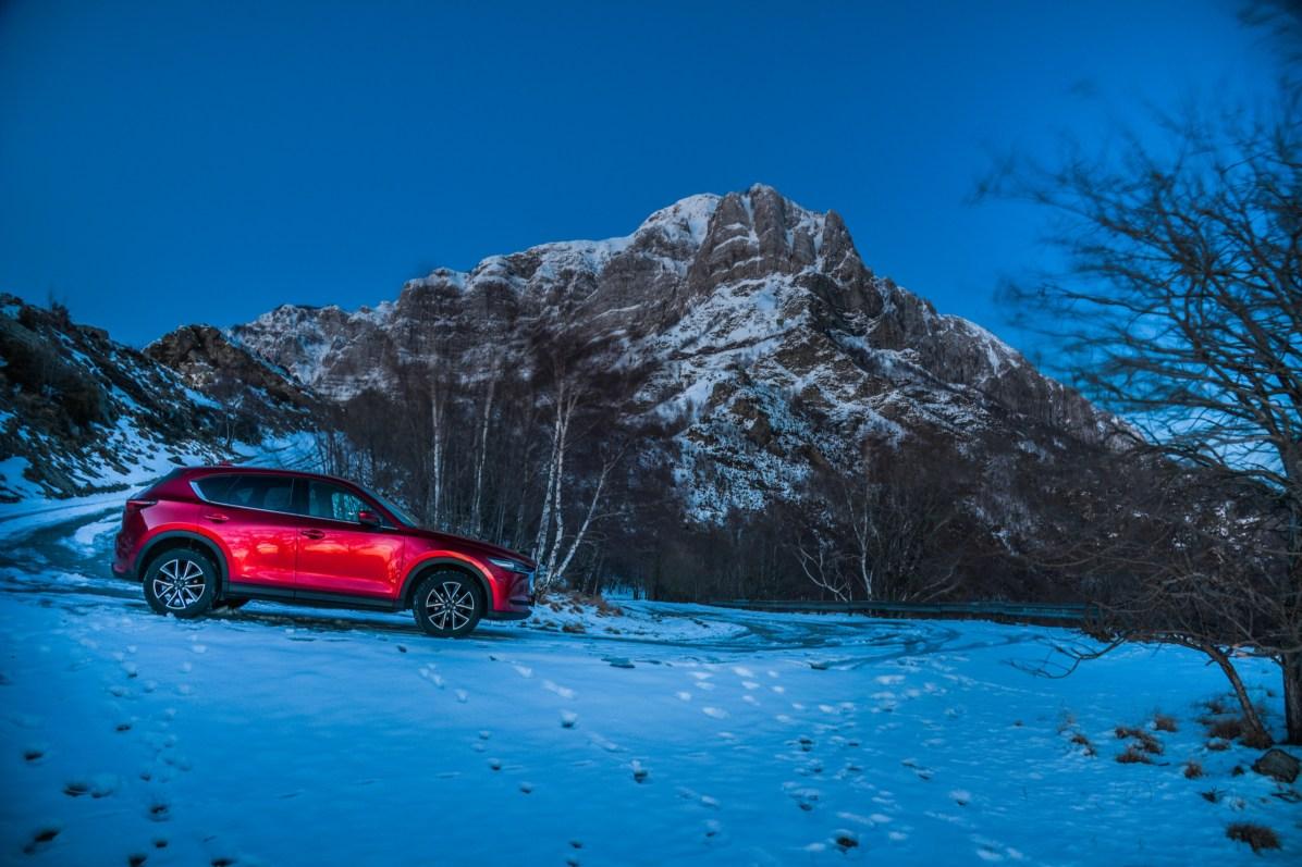 "MAZDA CX-5 ""SNOW"" / ©lucaromanopix"