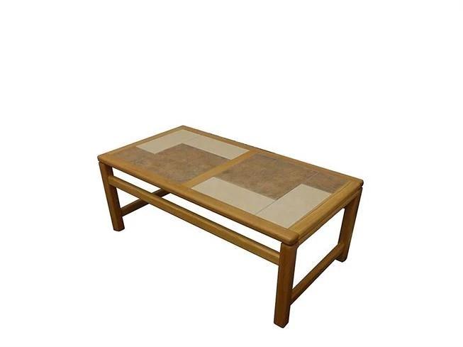 monaco tile top coffee table