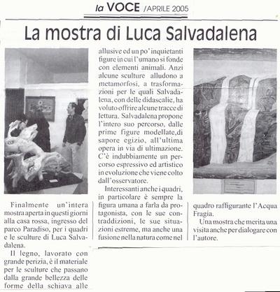La Voce della Valchiavenna (aprile2005)