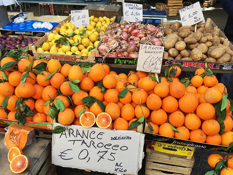 oranges catania