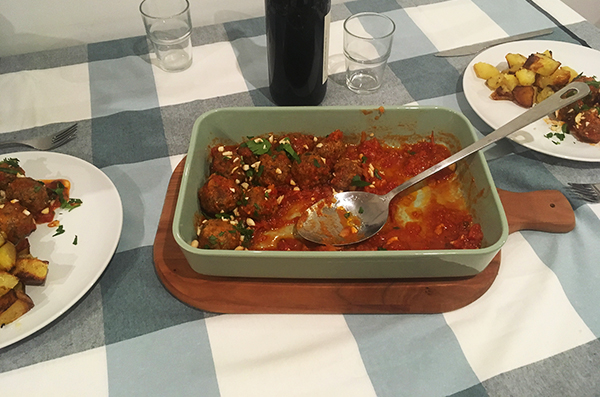 sicilian meatballs