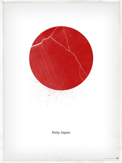 Help Japan: poster themes (1/2)
