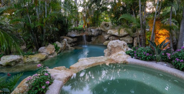 Spa and water feature