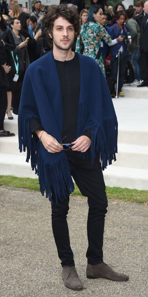 LONDON, ENGLAND - SEPTEMBER 21: Chay Suede attends the Burberry Womenswear Spring/Summer 2016 show during London Fashion Week at Kensington Gardens on September 21, 2015 in London, England. (Photo by Stuart C. Wilson/Getty Images for Burberry) *** Local Caption *** Chay Suede