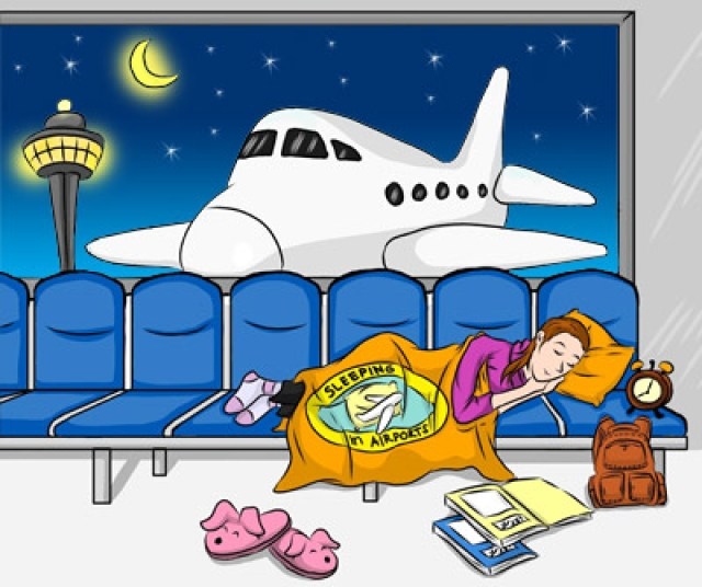 The Guide to Sleeping in Airports | image copyright SleepingInAirports.com