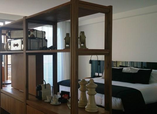 Vista cama Casasur Hotel
