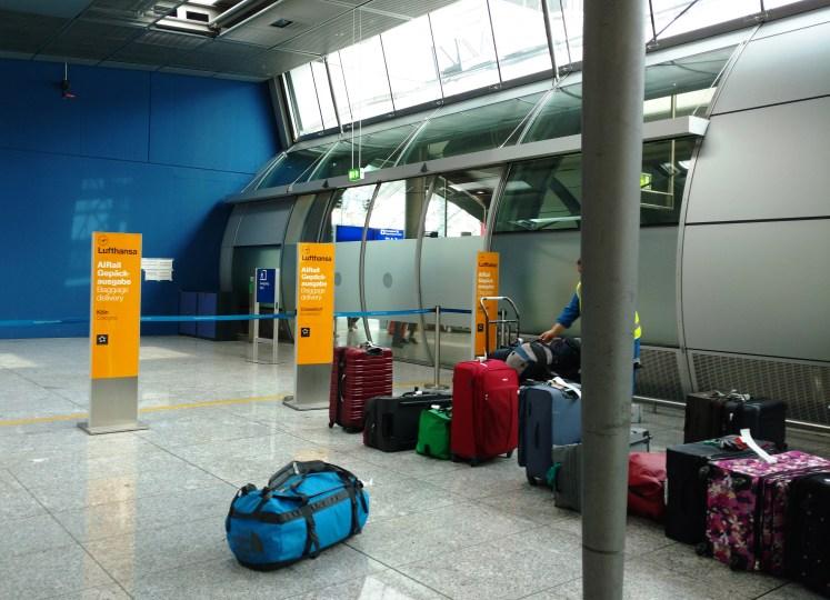 Sala de equipaje Lufthansa Express Rail