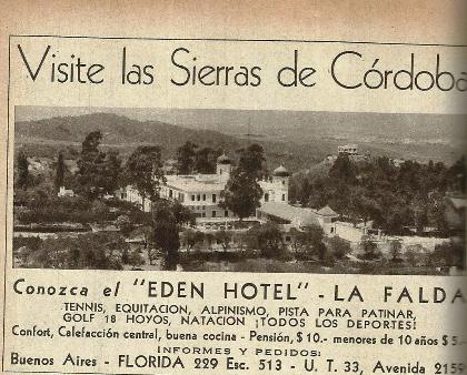 75c4a7798 Hotel Eden en La Falda Córdoba, Argentina - LUCATDIS
