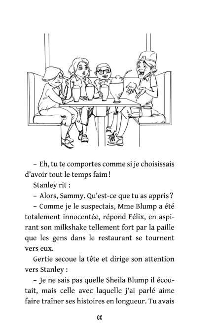 Page 66 du roman Les Détectives 1