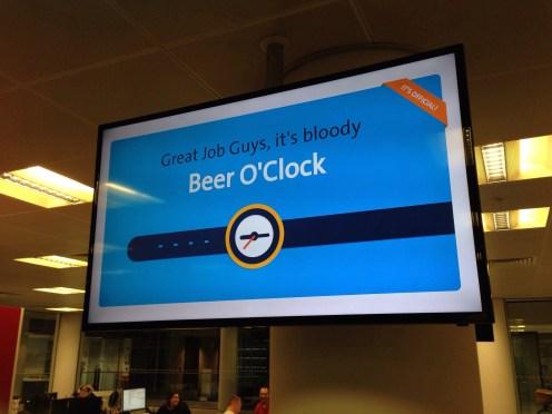#beeroclock