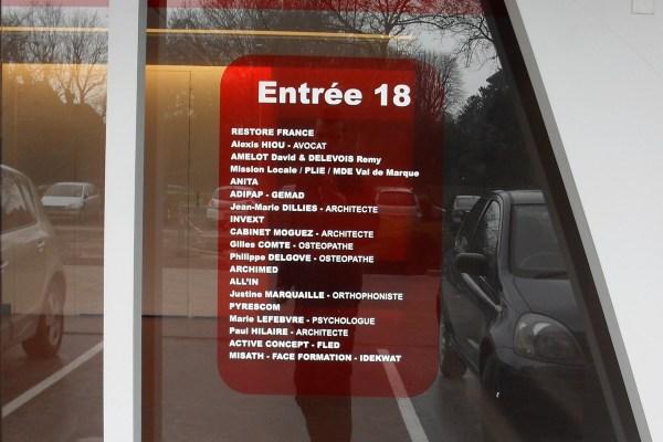 Les bureaux de Flandre – CROIX