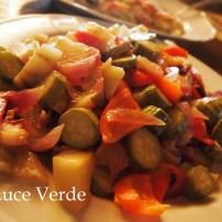 ルイージテーガ:マンマの野菜の煮込み。