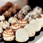 カップケーキのバレンタインのラッピング、クリームが乗るものや箱を使う場合は?